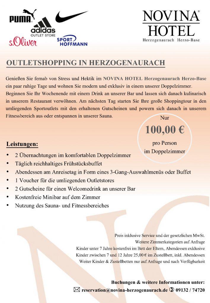 Herzogenaurach - Aktionen - NOVINA HOTELS